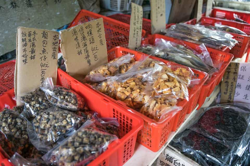 Dried Seafood From Po Toi Island