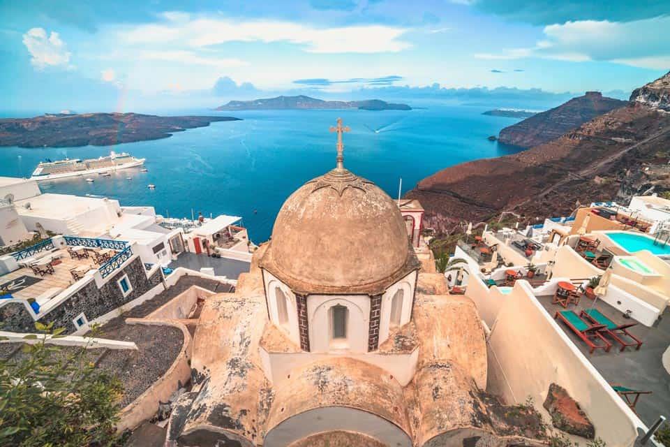 Fira Santorini Greek Island
