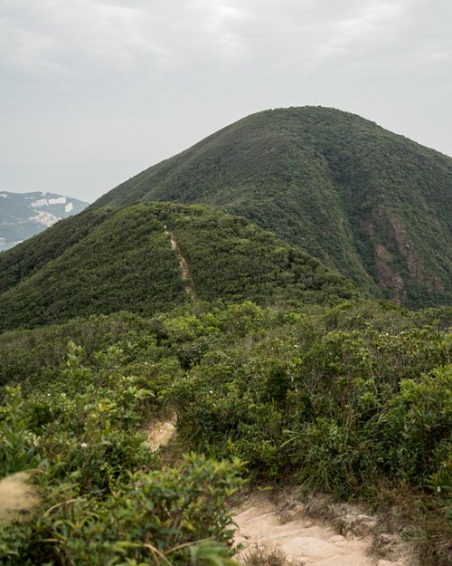 Hiking Twin Peaks Hong Kong