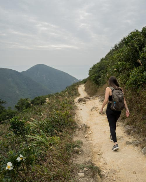 Hiking Violet Hill Hong Kong