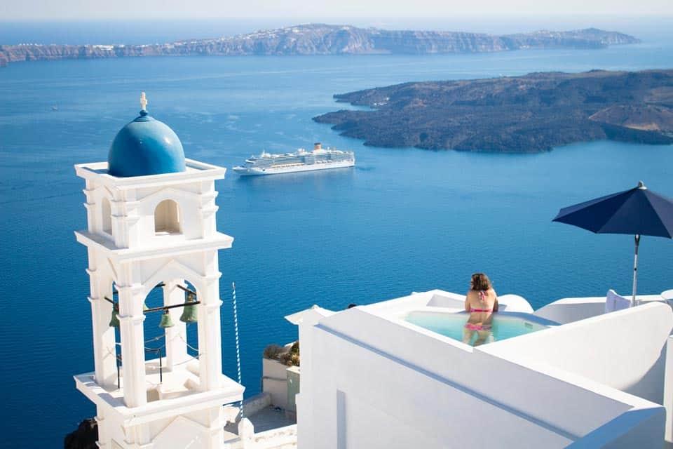 Imerovigli Santorini Greek Island
