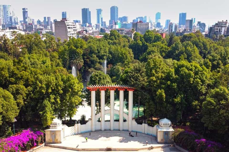La Condesa Park Mexico