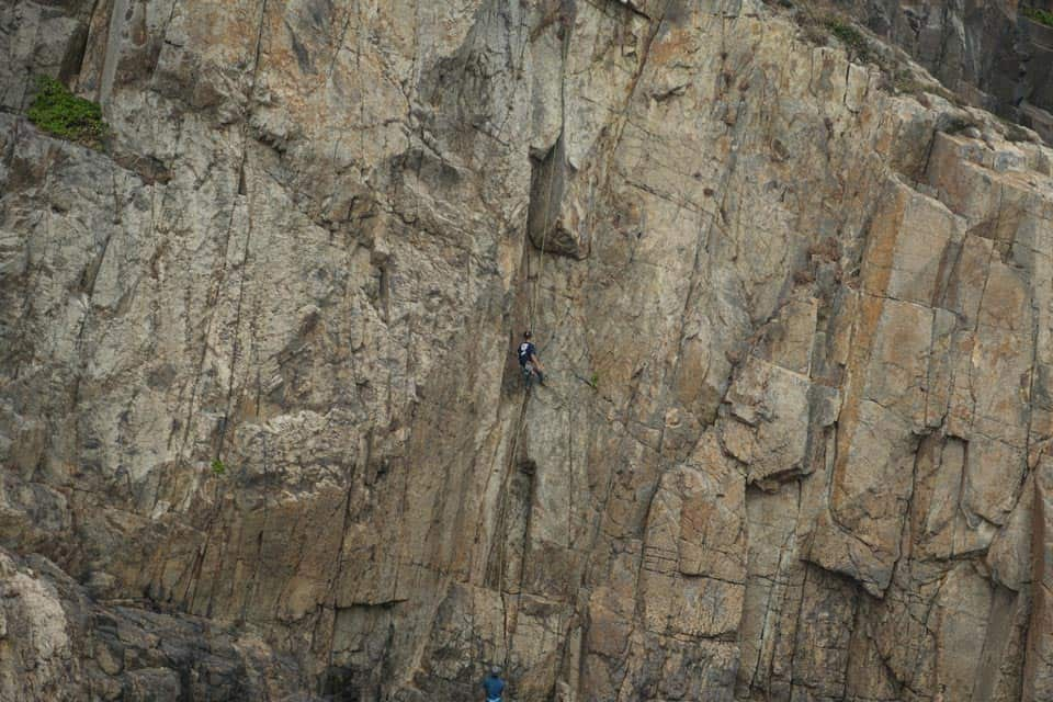 Rock Climbing in Tung Lung Chau