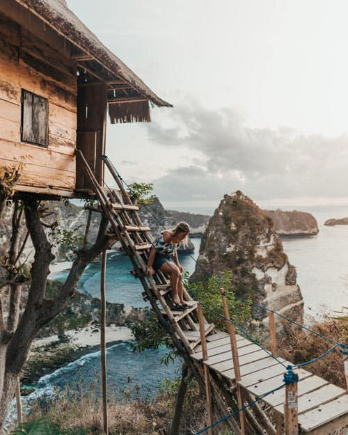 Rumah Pohon Treehouse Nusa Penida Must See