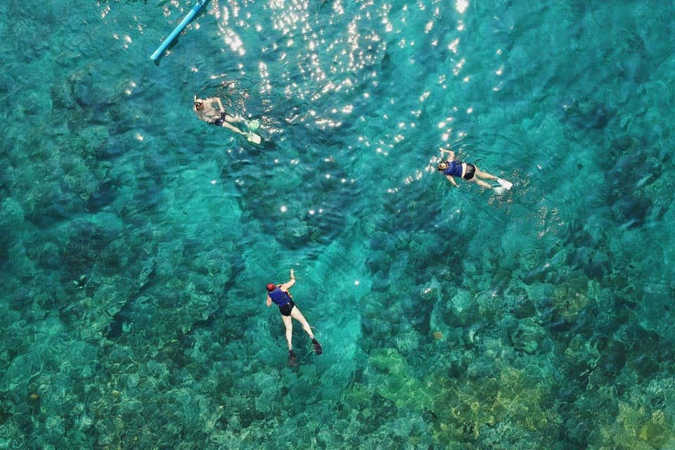 Snorkeling Nusa Penida Tourist Map
