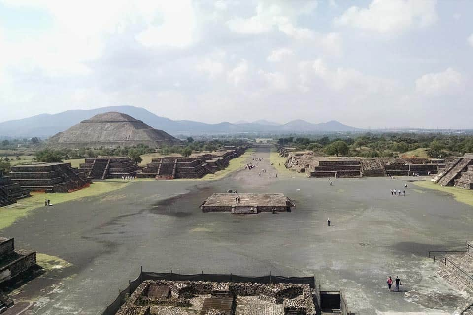 Teotihuacan Avenue Of The Dead DF Mexico
