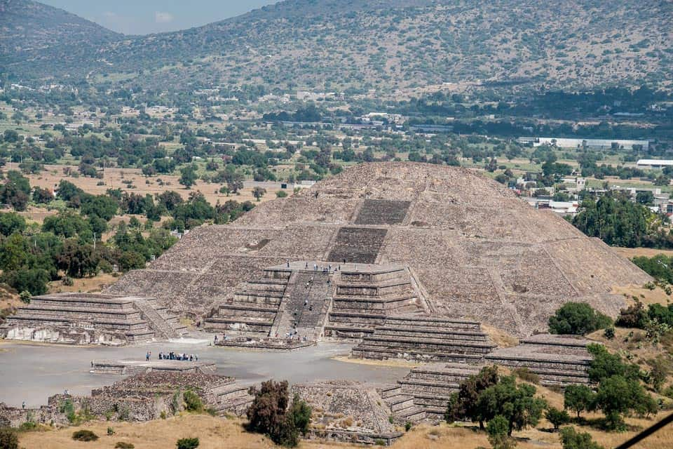 Teotihuacan Mexico City Trip