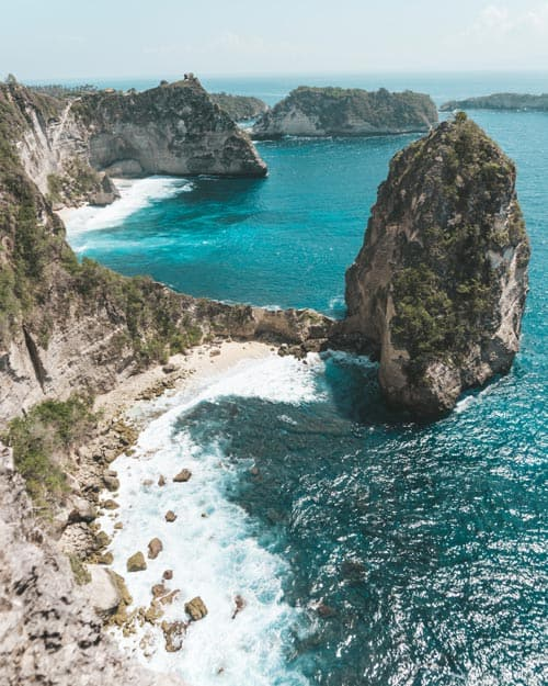 Thousand-Islands-Viewpoint-Nusa Penida Places To Visit