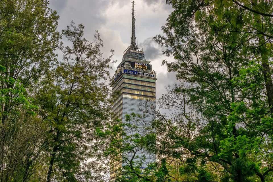 Torre LatinoAmericana Centro Historico DF Mexico City