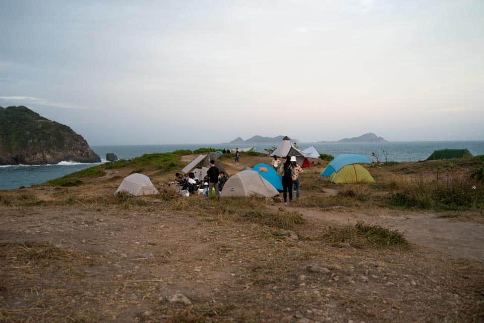 Tung Lung Chau Camping