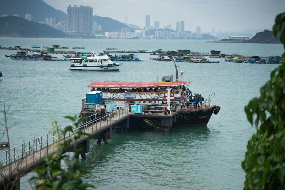 Tung Lung Chau Public Pier