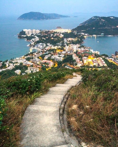 Twin Peaks Hike Stanley Hong Kong