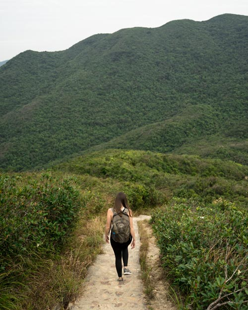 Violet Hill Hiking Trail Hong Kong
