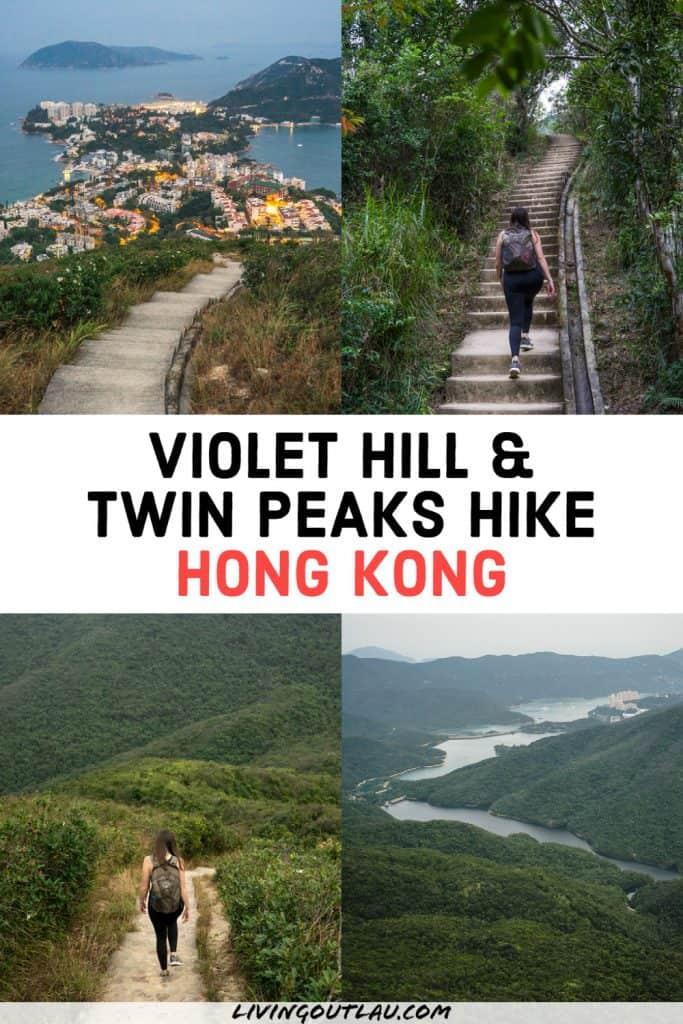Violet Hill Twin Peaks Hike Hong Kong Pinterest