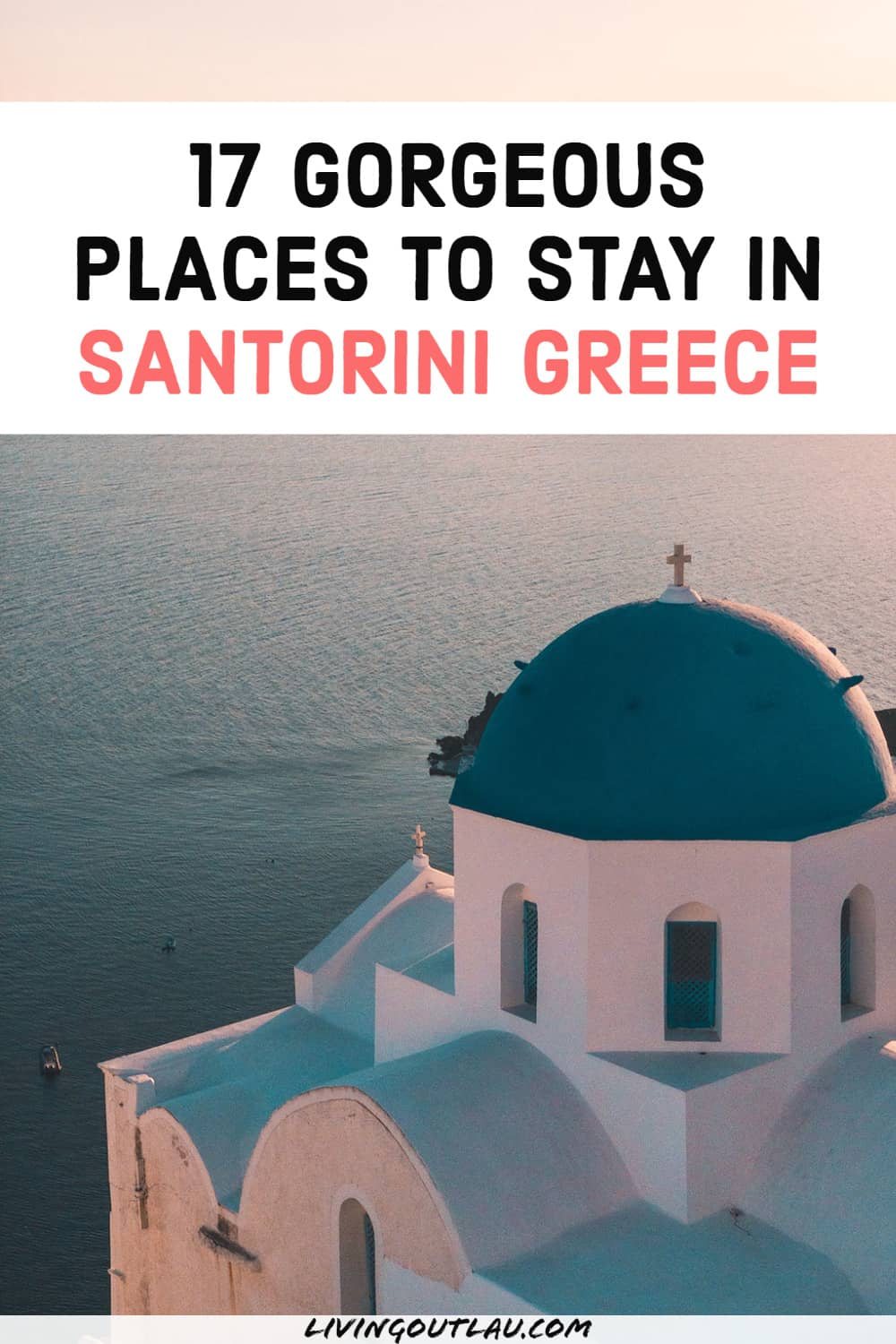 Where To Stay In Santorini Airbnb Pinterest