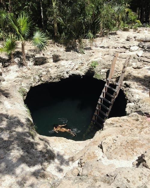 Cenote Calavera semi open cenote Tulum