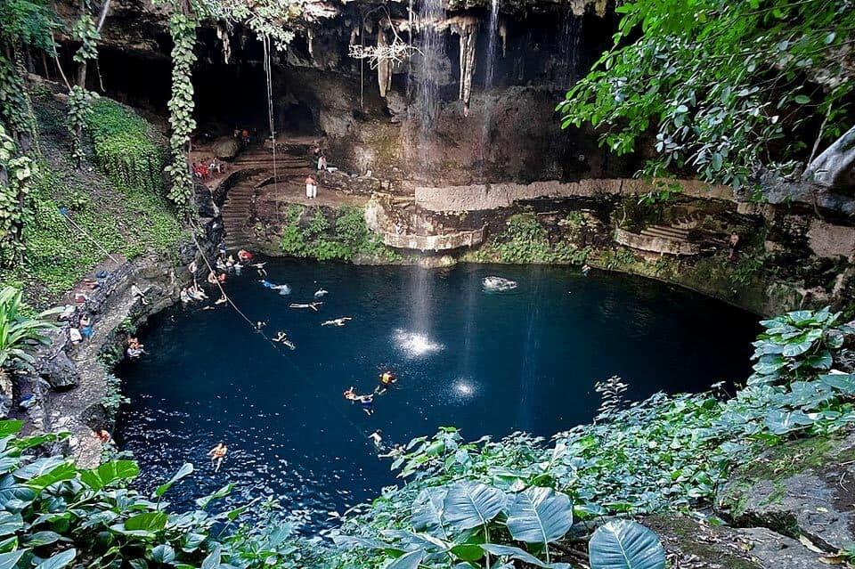 Cenote Zaci Tulum Valladolid Yucatan Mexico