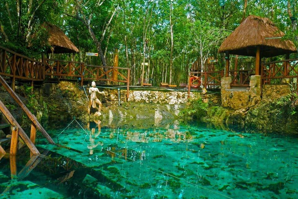 Cenote Zacil-Ha Tulum For Swimming