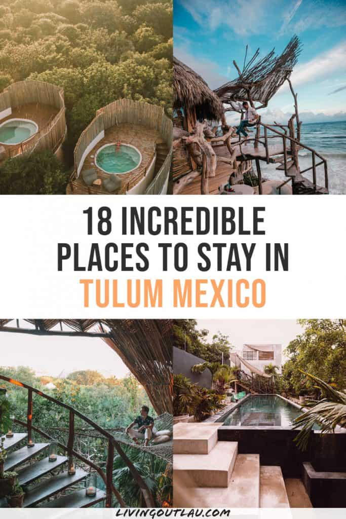 Where To Stay In Tulum Hotels Pinterest
