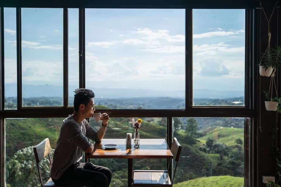 Cafe in Filandia Quindio