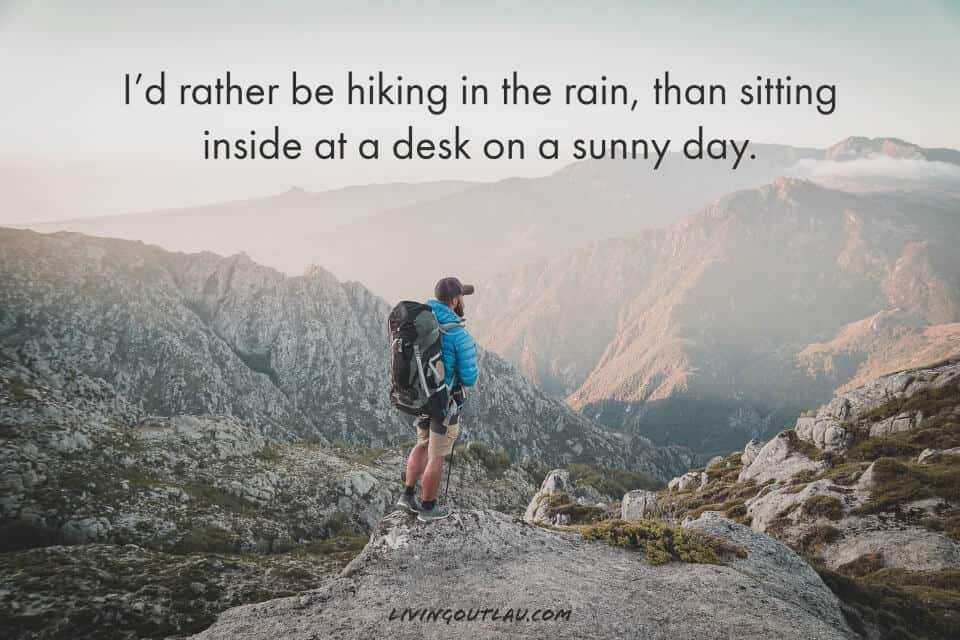 Captions For Trekking