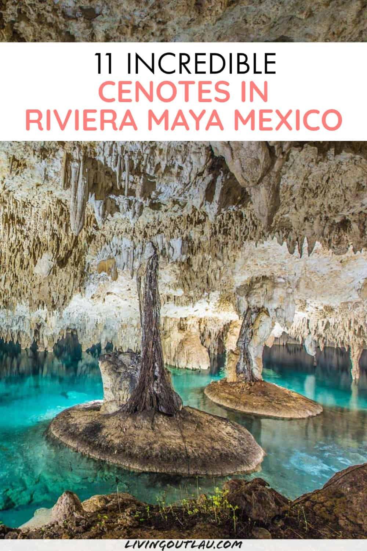 Cenotes Riviera Maya Mexico Pinterest