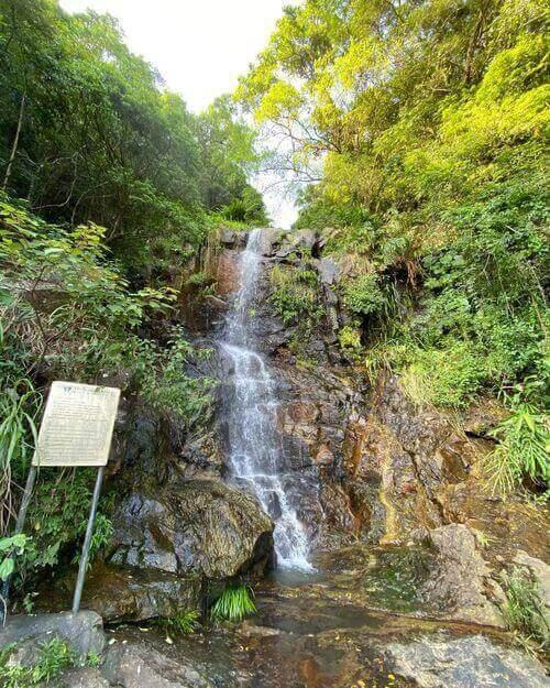 Lugard Falls Hong Kong Island