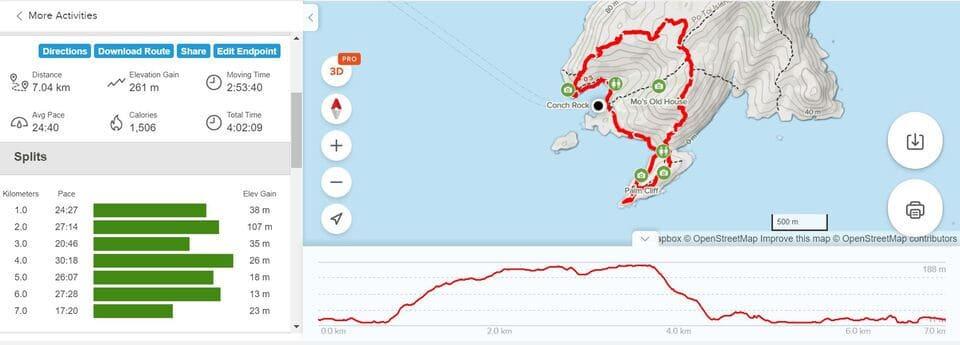 Po Toi Hike Map