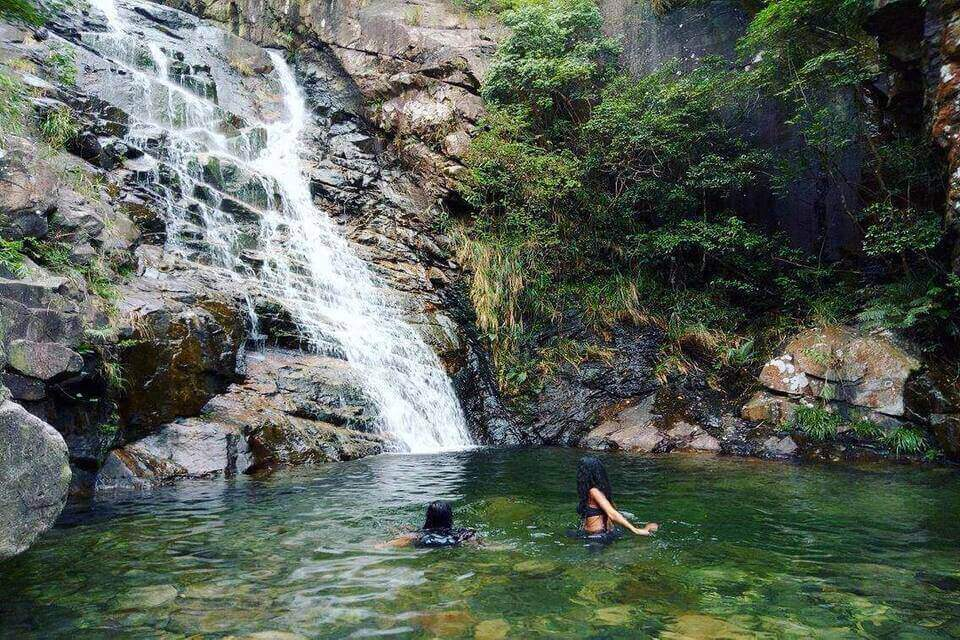 Wong Lung Stream Lantau Waterfall