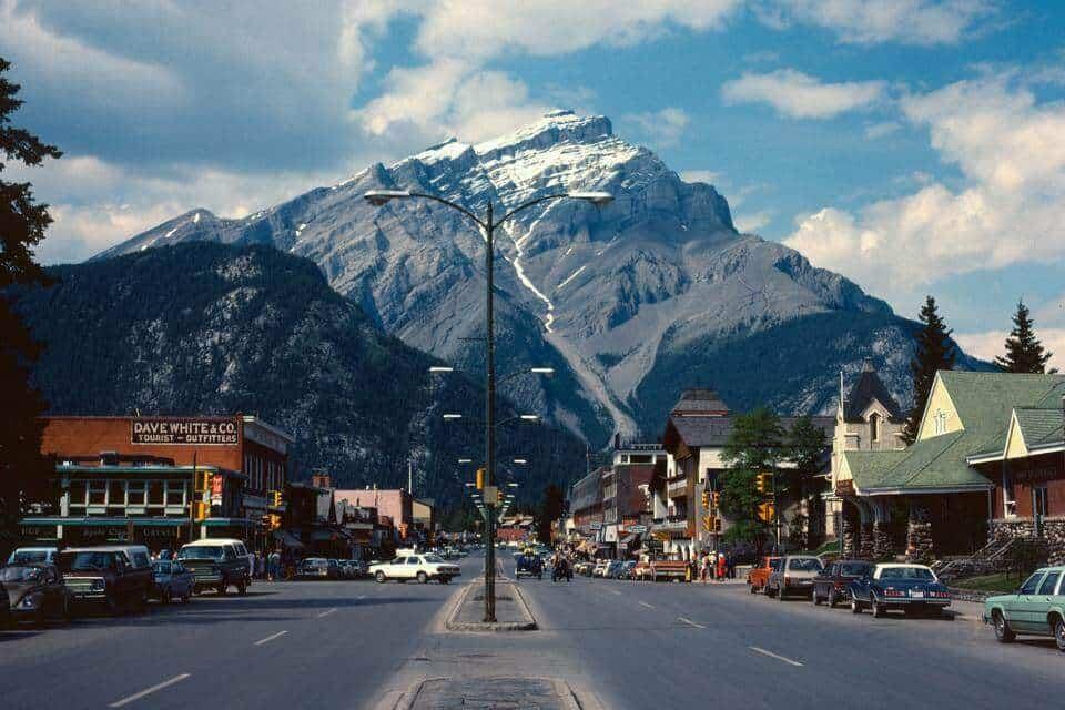 Alberta Banff Town