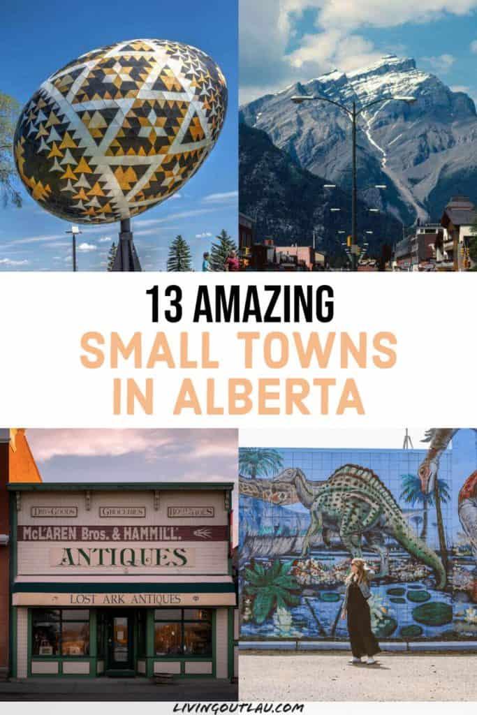 Alberta Small Towns Pinterest