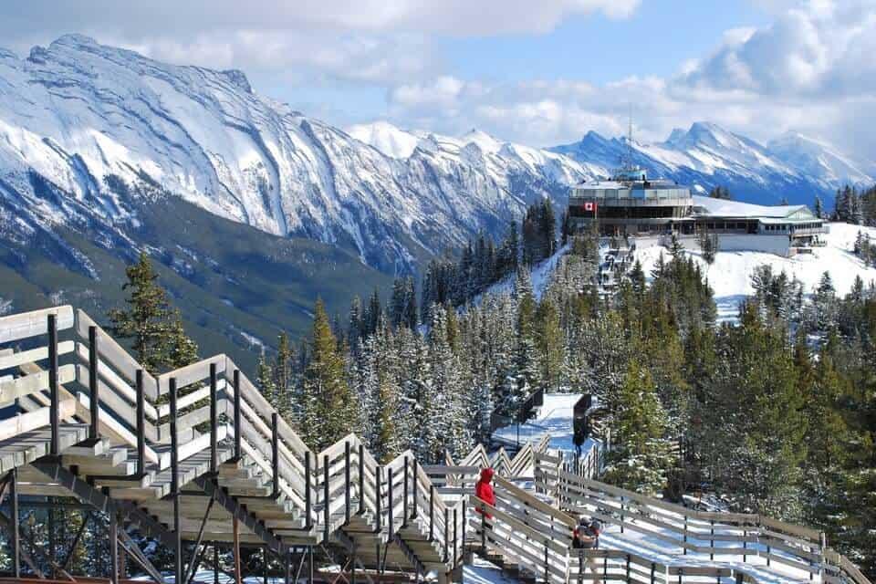 Banff Gondola Sulfur Mountain