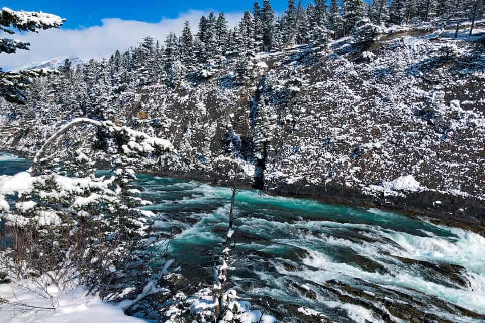 Bow River Falls - Banff