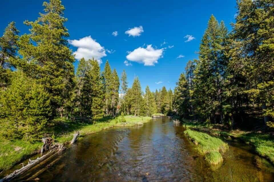 Firehole River Yellowstone
