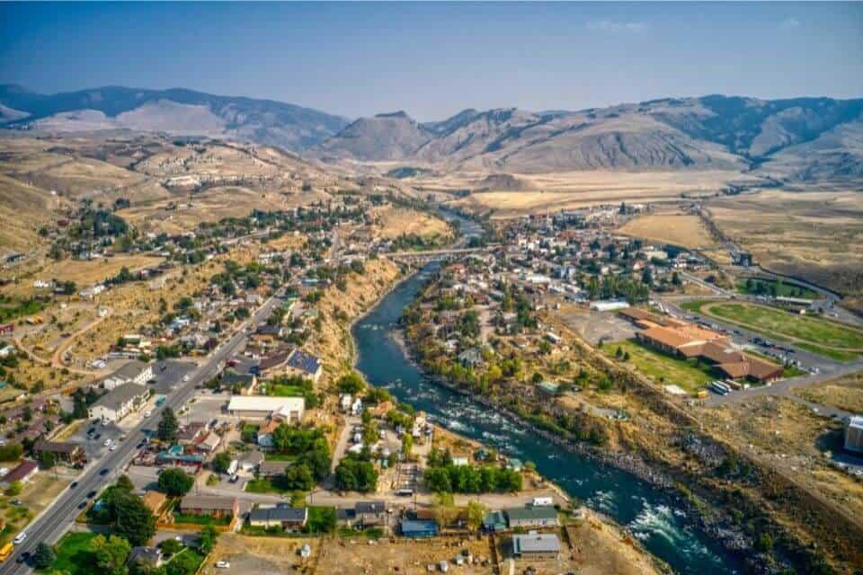 Gardiner Montana Yellowstone