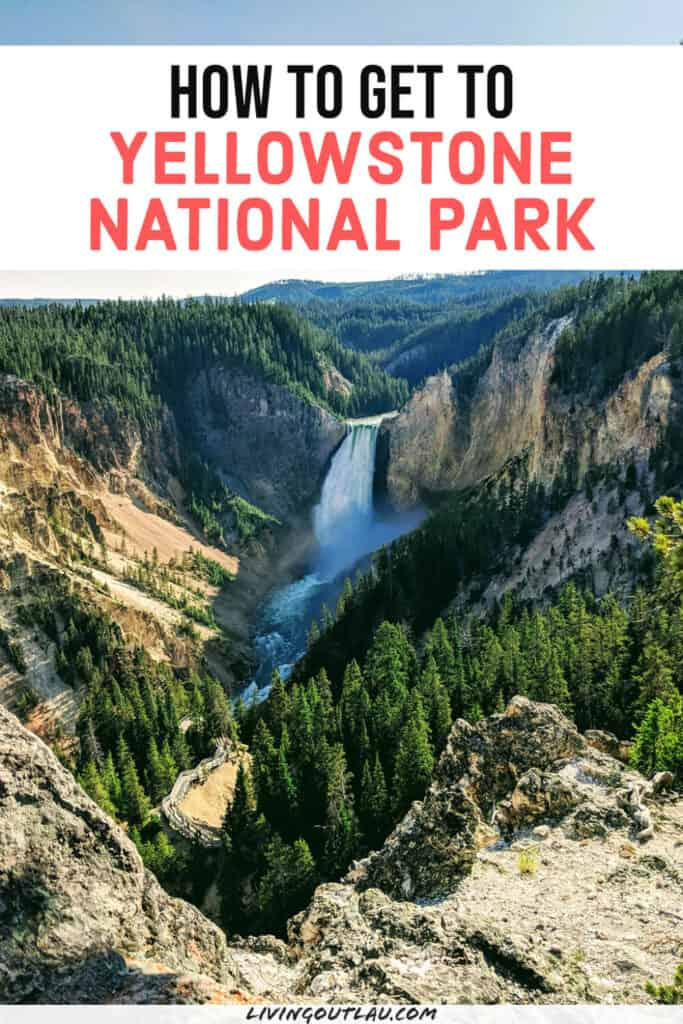 How To Get To Yellowstone Airport Pinterest
