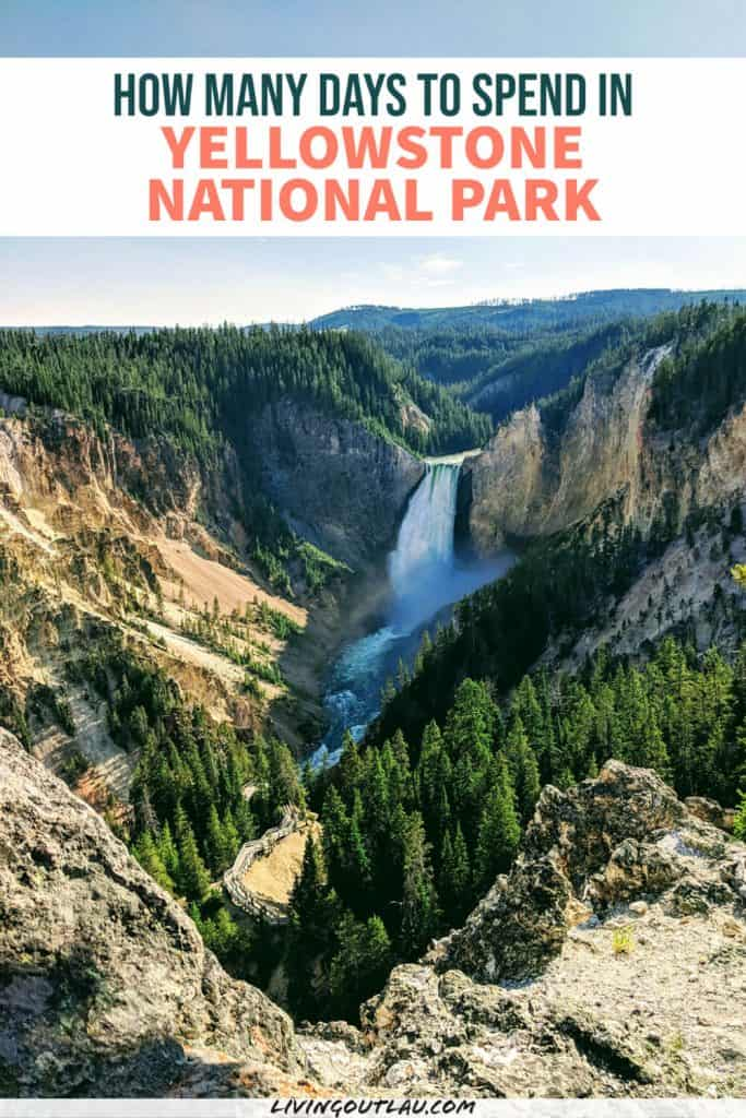 How many days in Yellowstone National Park Pinterest