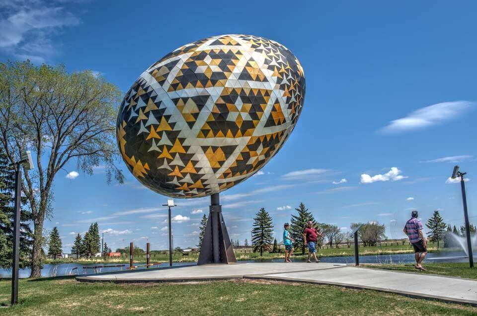 Vegrevilla Alberta Town Near Calgary