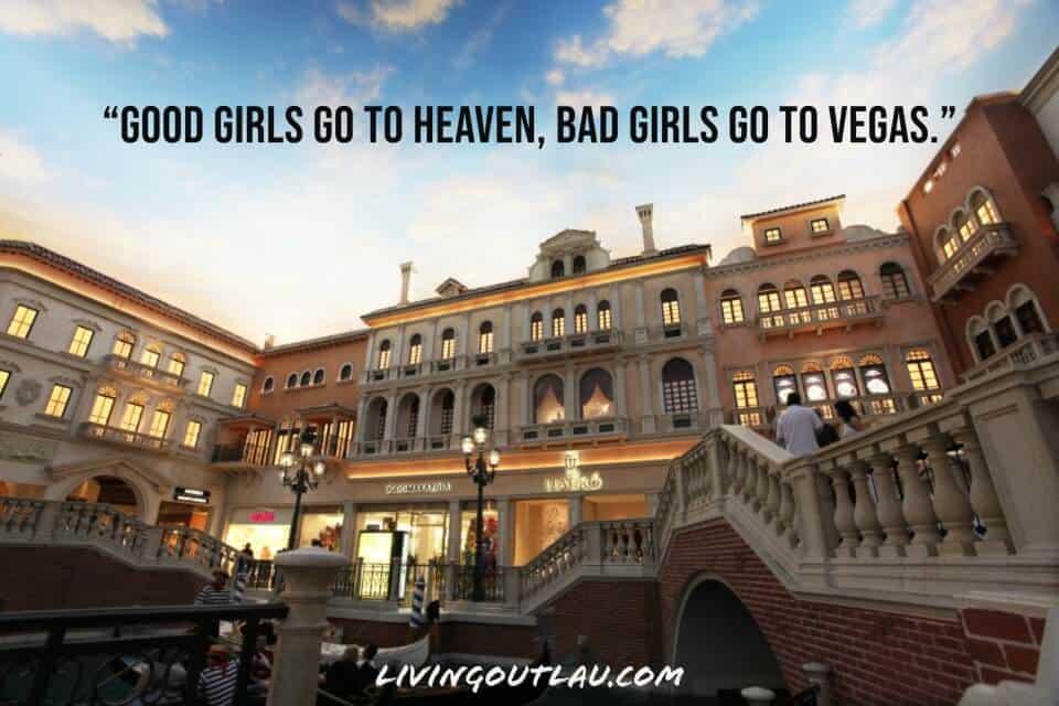 Las Vegas IG Captions