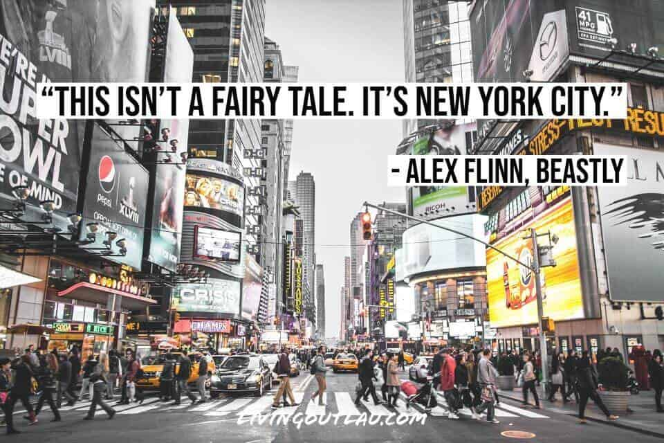 NYC Quotes For Instagram