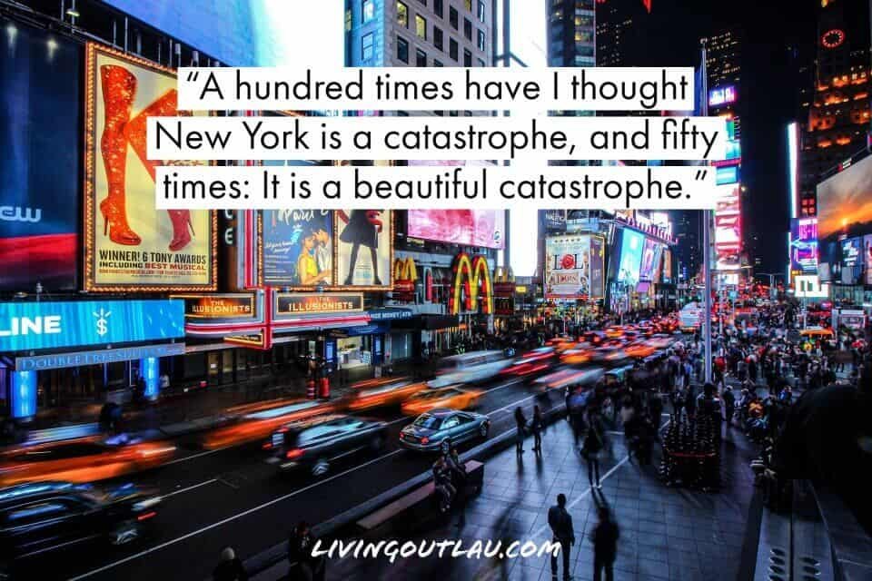 New York City Quotes For Instagram