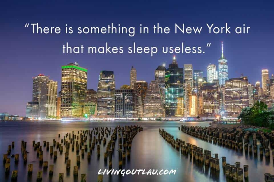 New York Quotes Short