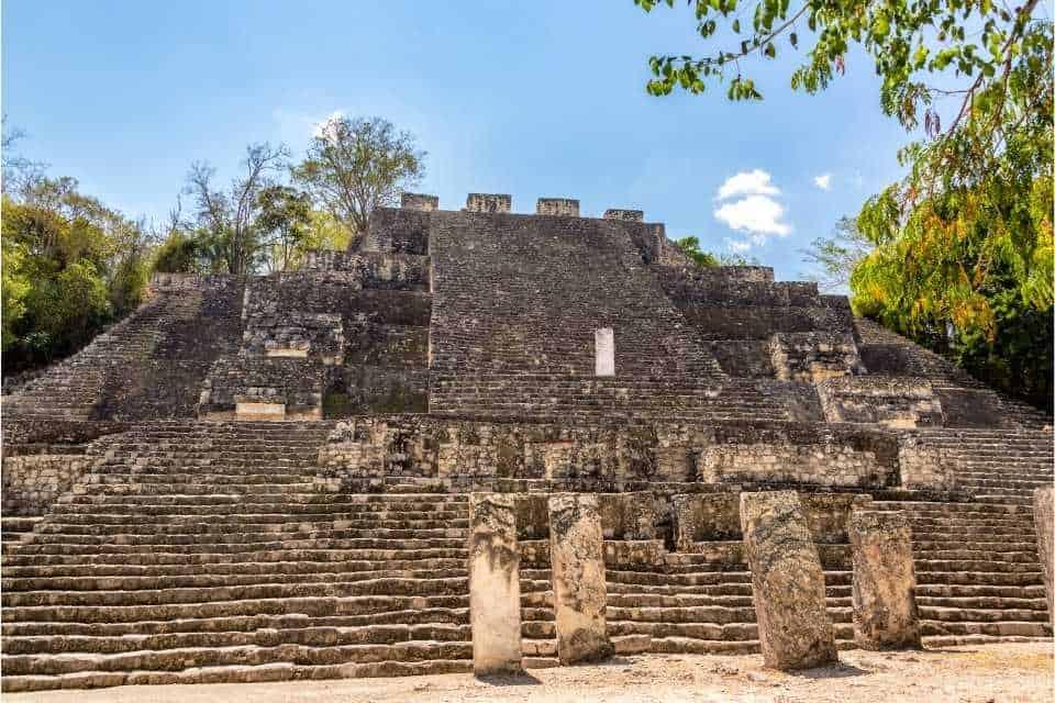 Calakmul Mayan Ruins Yucatan