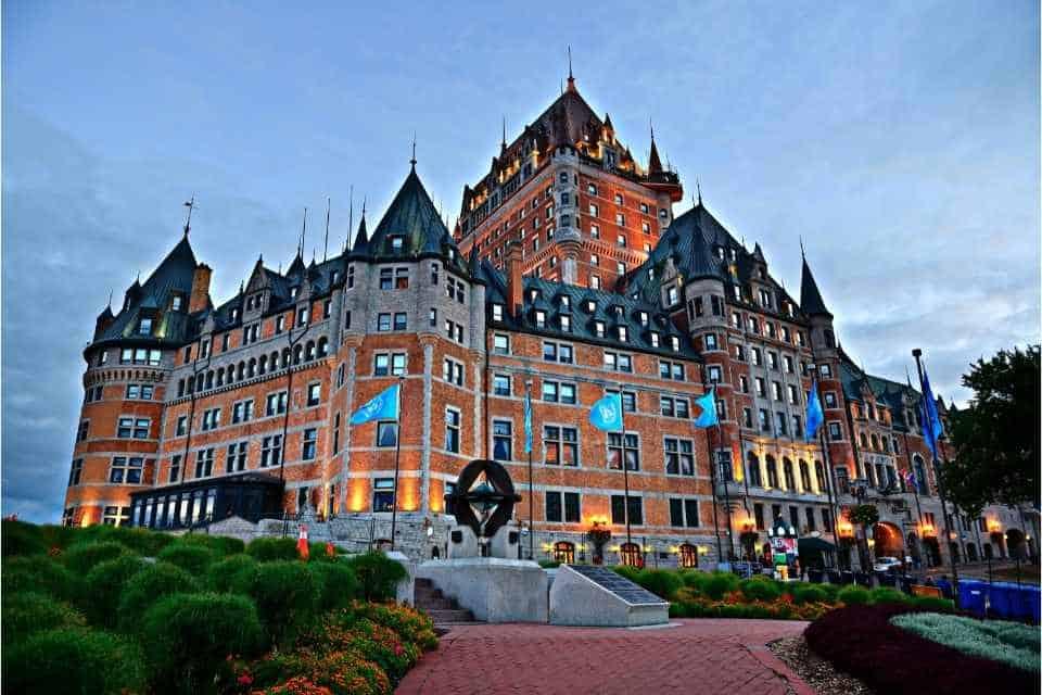 Chateau Frontenac Canada Historic Landmark
