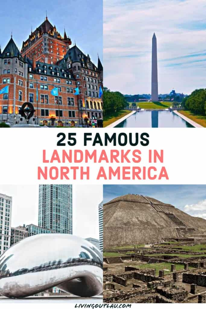 Famous North America Landmarks Pinterest