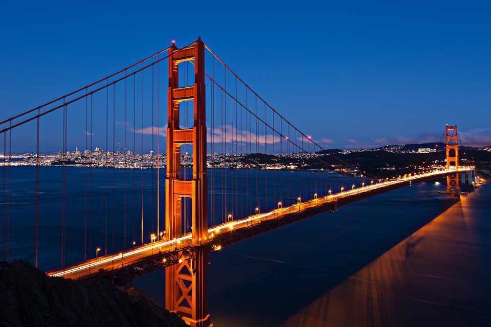 Golden Gate Bridge North America