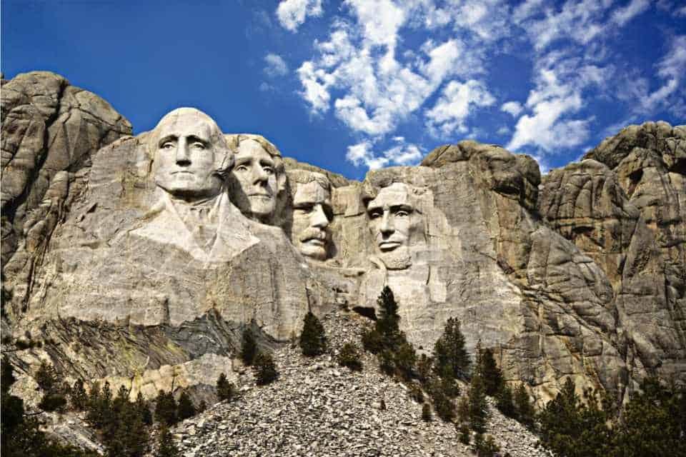 Mount Rushmore Natural Landmark In North America