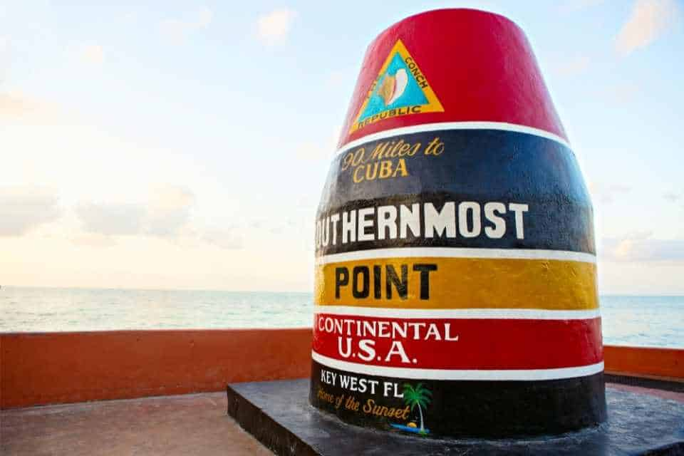 Southernmost Point in US Landmark