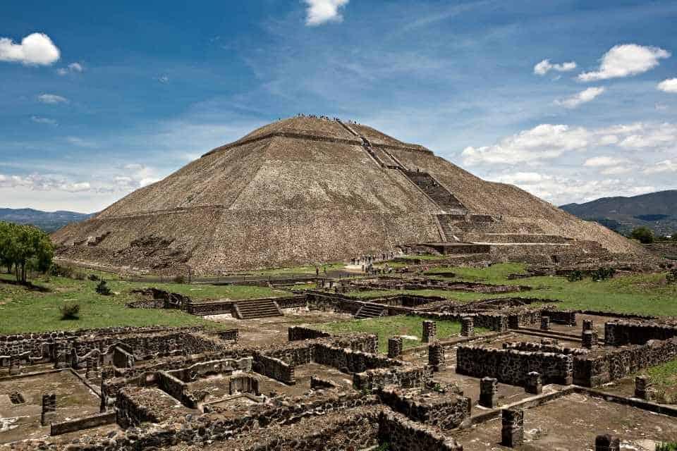 Teotihuacan Mexico Landmarks