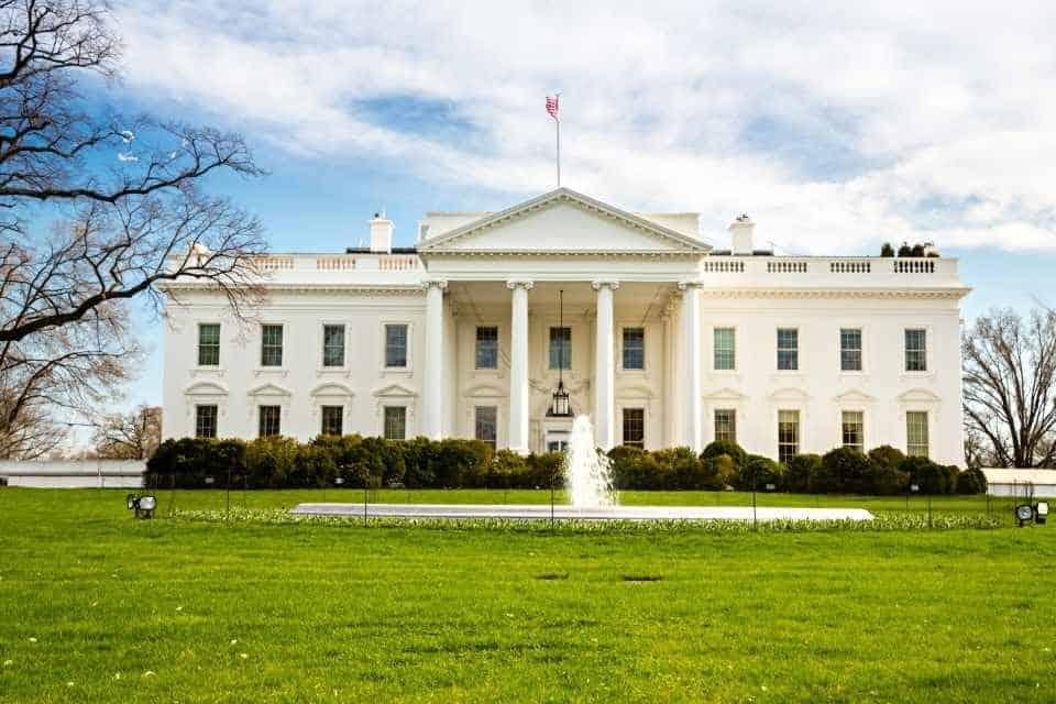 The White House Famous Landmark in USA